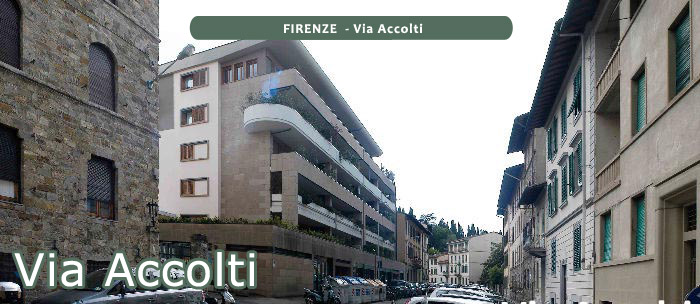 FIRENZE  - Via Accolti